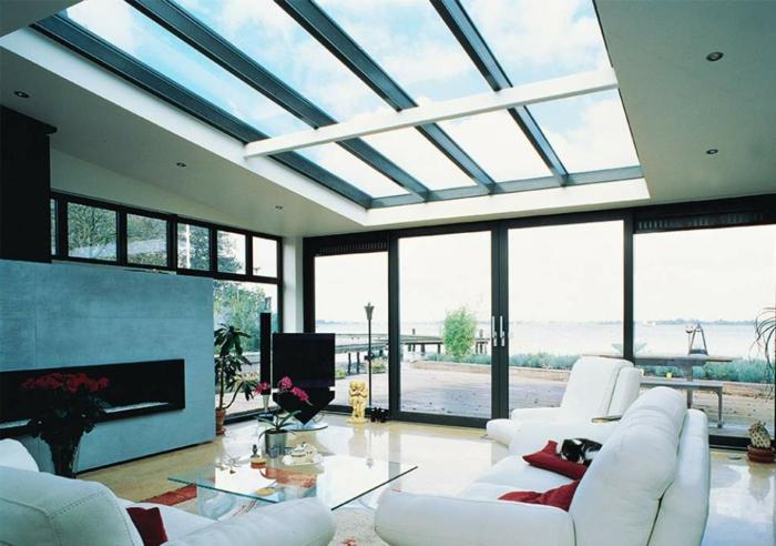 Chambre-fenêtre-de-toit-vue-jolie-a-salon