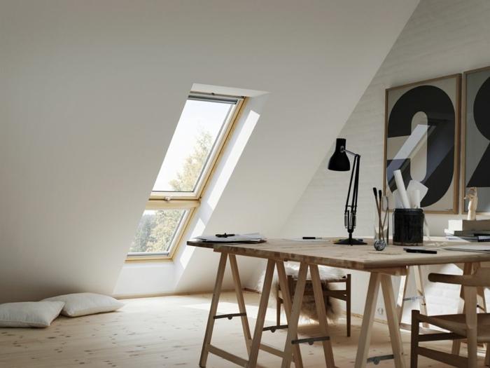 Chambre-fenêtre-de-toit-vue-jolie-atelier