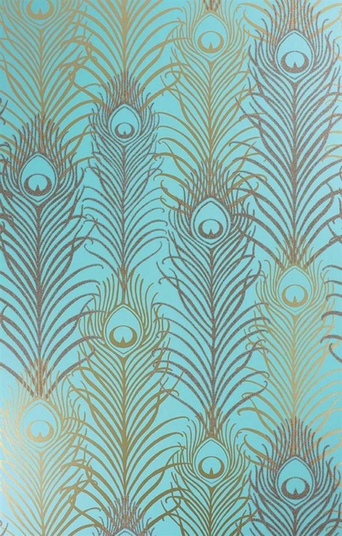 Déco-intérieur-aigua-mer-marine-papier-peinte