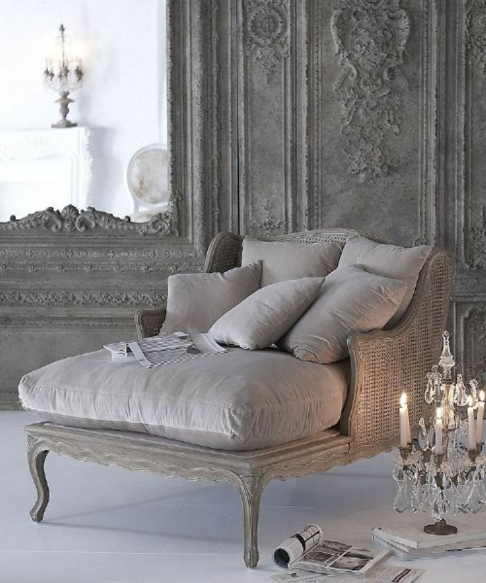 Décoration-chambre-romantique-fauteuil-baroque
