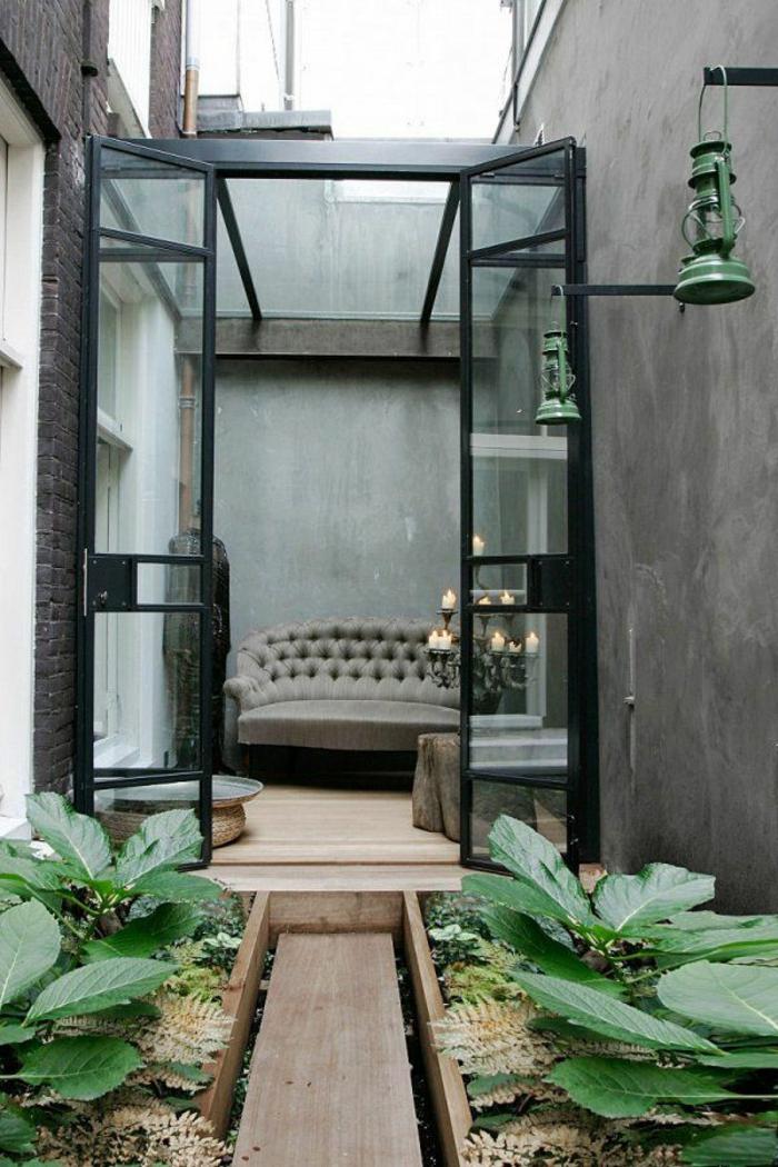 Décoration-chambre-romantique-fleurs-jardin