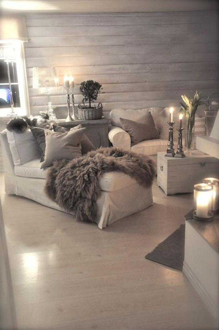 Décoration-chambre-romantique-salon-confort