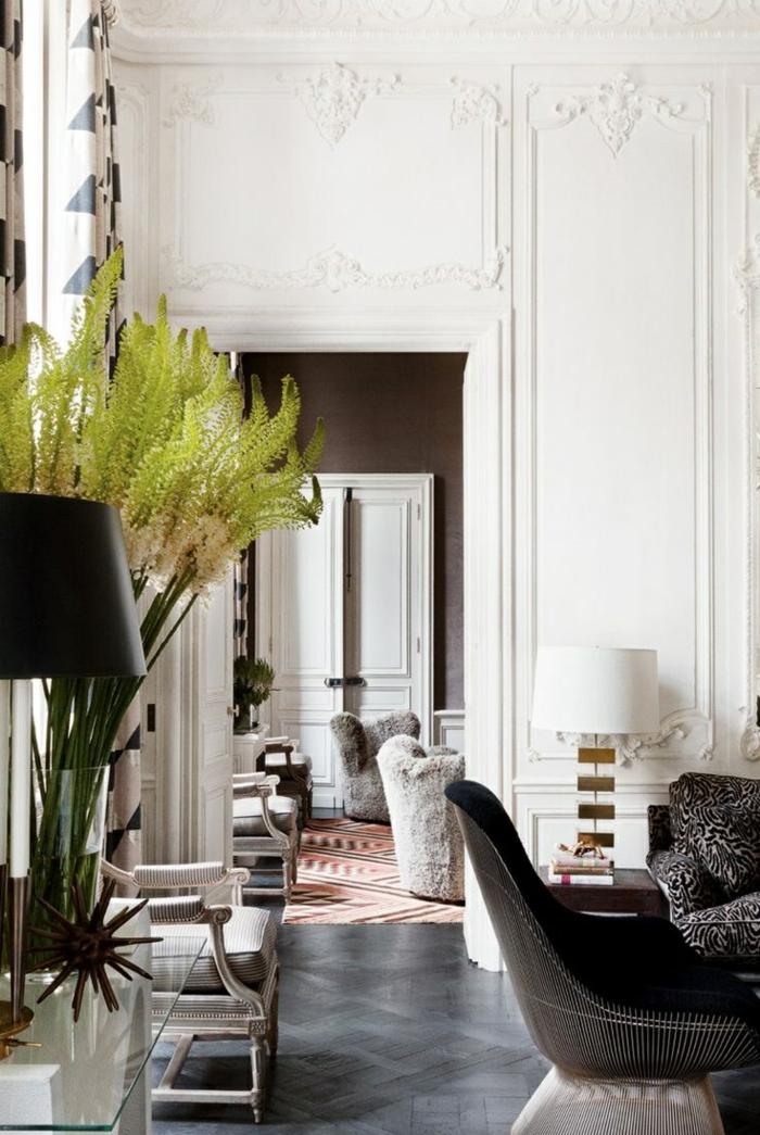 Décoration-chambre-romantique-style-francais