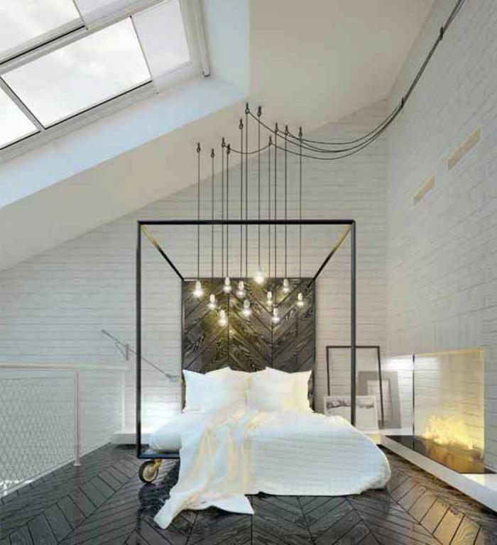 Deco-chambre-romantique-idées-lit-lampes-blanc
