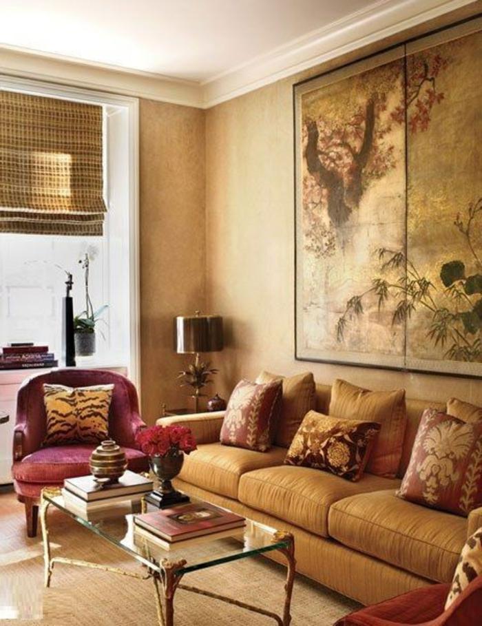 Design-intérieur-couleur-moderne-salon-rustique
