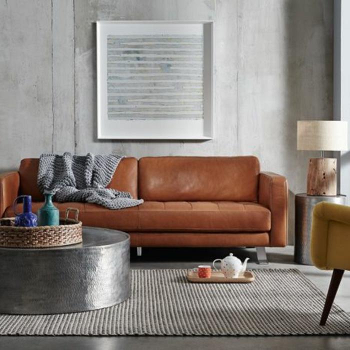 Design-intérieur-couleur-moderne-thé-tapis-canapé-salon