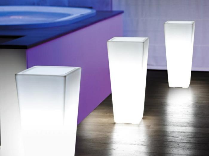 Lampe-exterieure-pot-de-fleur-eau