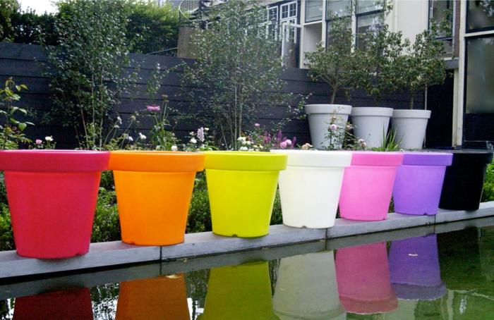 Lampe-exterieure-pot-de-fleur-pots-colorées