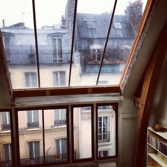 La fen tre de toit en 65 jolies images for Fenetre style loft