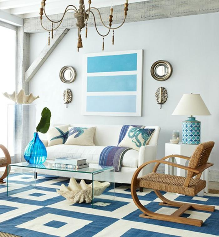 Salle-de-séjour-à-la-couleur-aigue-marine-tapis-sofa