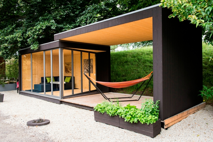 Le chalet de jardin qui va vous charmer for Photo jardin moderne design