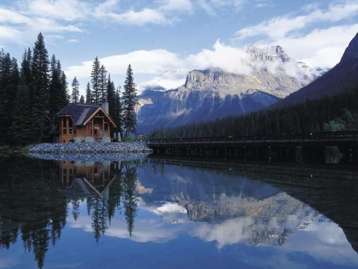 Le chalet de jardin qui va vous charmer for Chalet a la montagne avec piscine