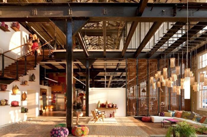 appartement-moderne-intérieur-de-votre-appartement-loft-atypique-escalier-en-bois