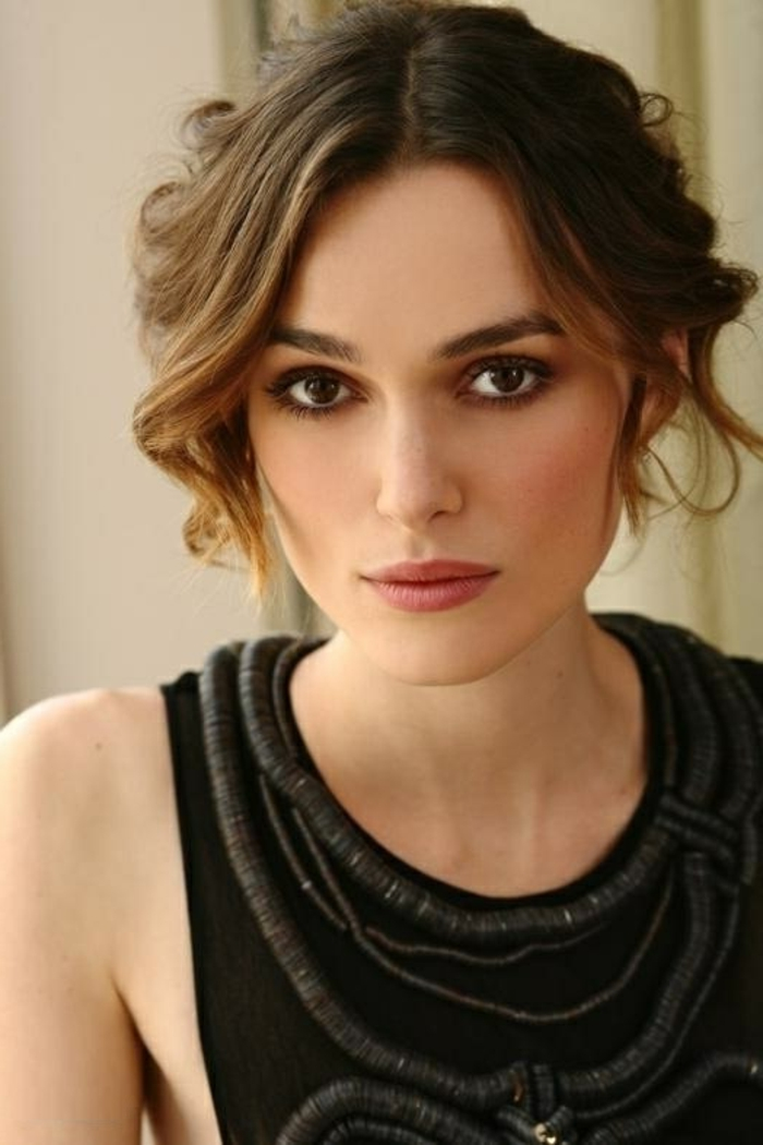 maquillage yeux keira knightley. Black Bedroom Furniture Sets. Home Design Ideas