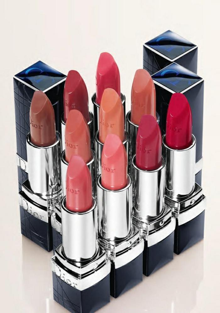 beauté-dior-maquillage-rouge-à-levres-couleurs-rouge