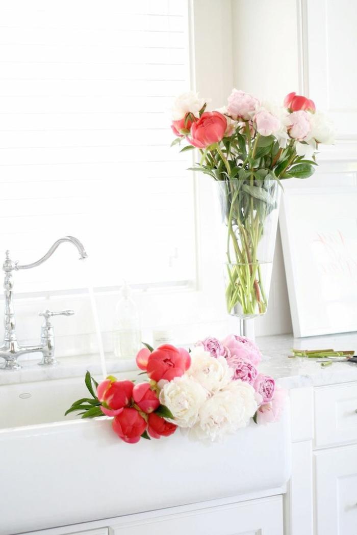 bouquet-de-pivoine-idées-décoration-cuisine