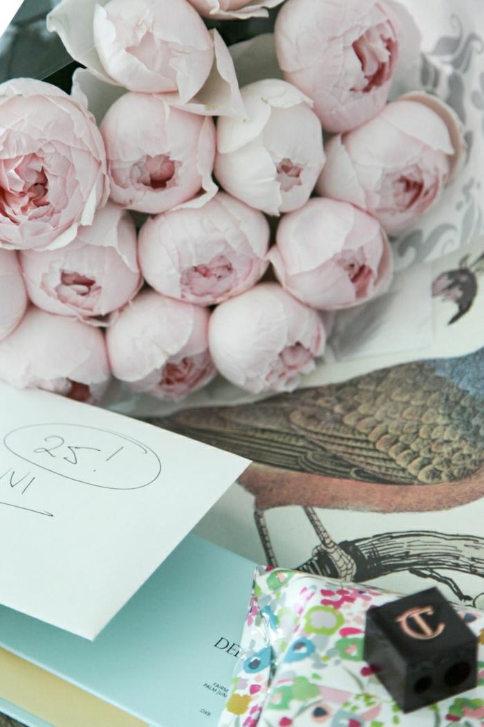 bouquet-pivoine-décoration-maison-blanches