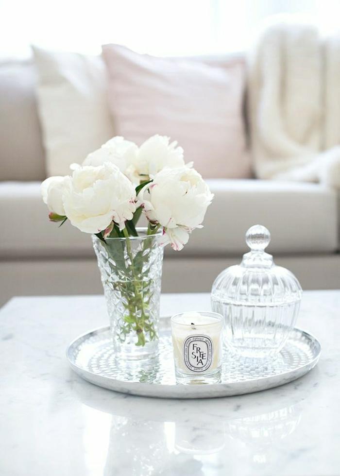 bouquet-pivoine-décoration-maison-dans-le-salon