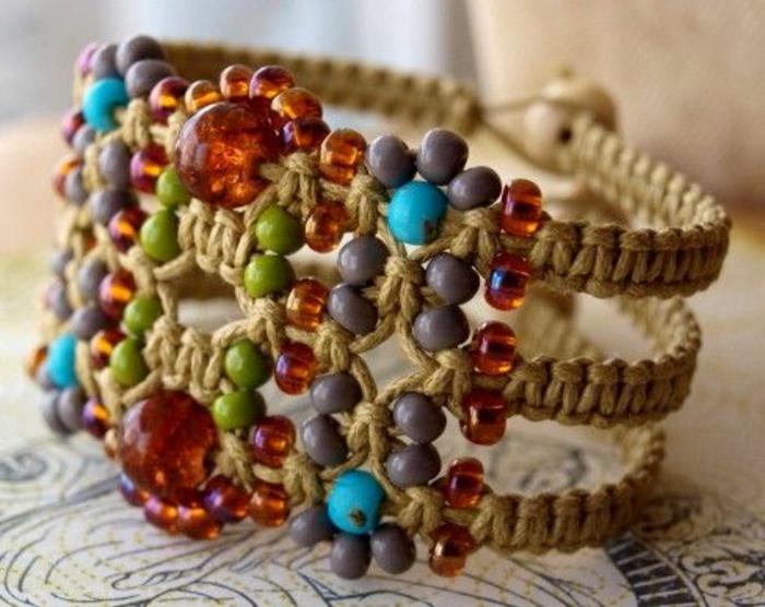 bracelet-manchette-macramé
