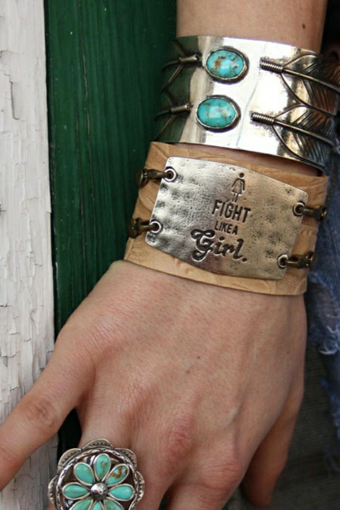 bracelet-manchette-pensée-originale