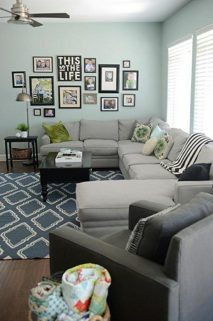 Aujourd hui nous sommes inspir s par la couleur taupe for Mur salon taupe et lin
