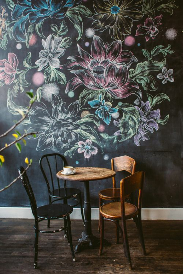 chaises-bistrot-anciennes-peinture-murale