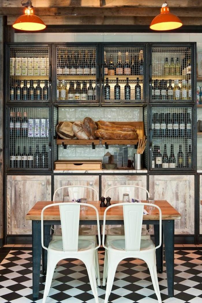 Les chaises bistrot une classique pour l 39 int rieur - Decoration restaurant bar moderne australie ...