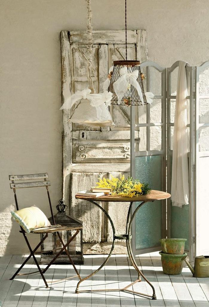 chaises-bistrot-idées-déco-vintage