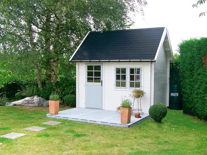chalet-jardin-idée-créative-blanc-jolie