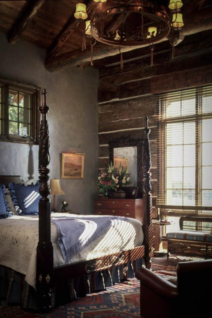 Le meuble massif est il convenable pour l 39 int rieur - Chambre a coucher chene massif moderne ...