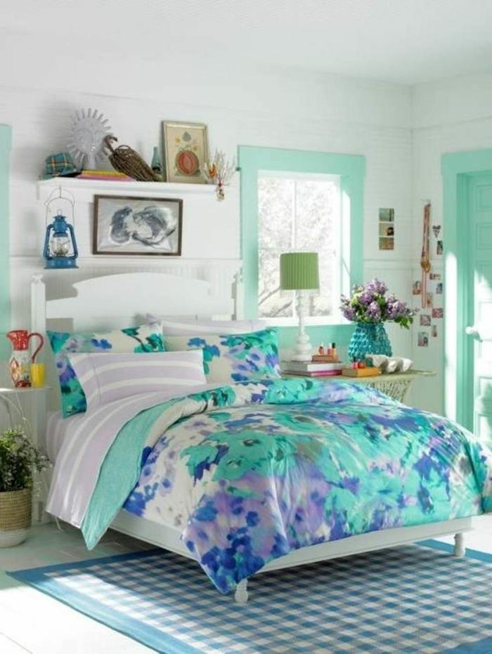 chambre-ado-fille-idée-créative-couleurs