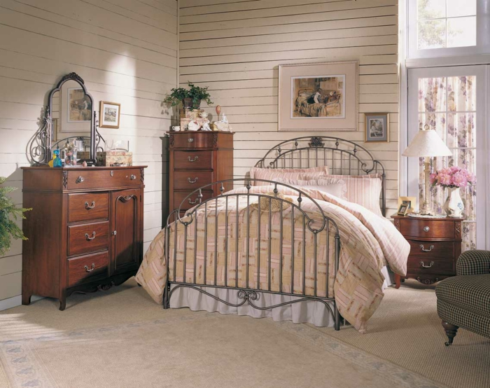 d co chambre ambiance romantique. Black Bedroom Furniture Sets. Home Design Ideas