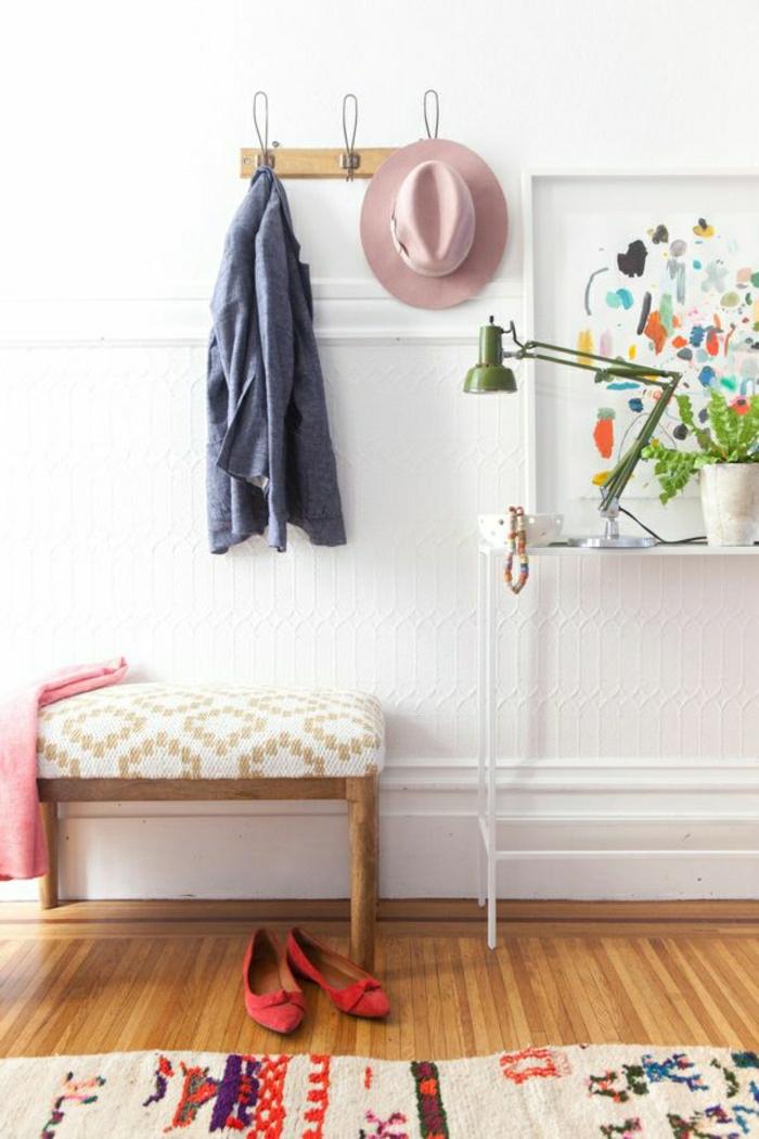 console-meuble-entree-console-design-porte-manteua-mural-chapeau-parquet