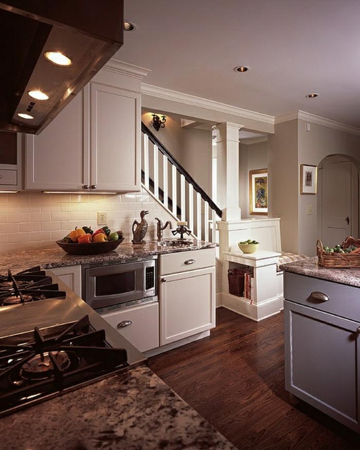 Idée Rangement Chambre Petite : … -escalier-petite-cuisine-meuble-sous-escalier-rangement-sous-escalier
