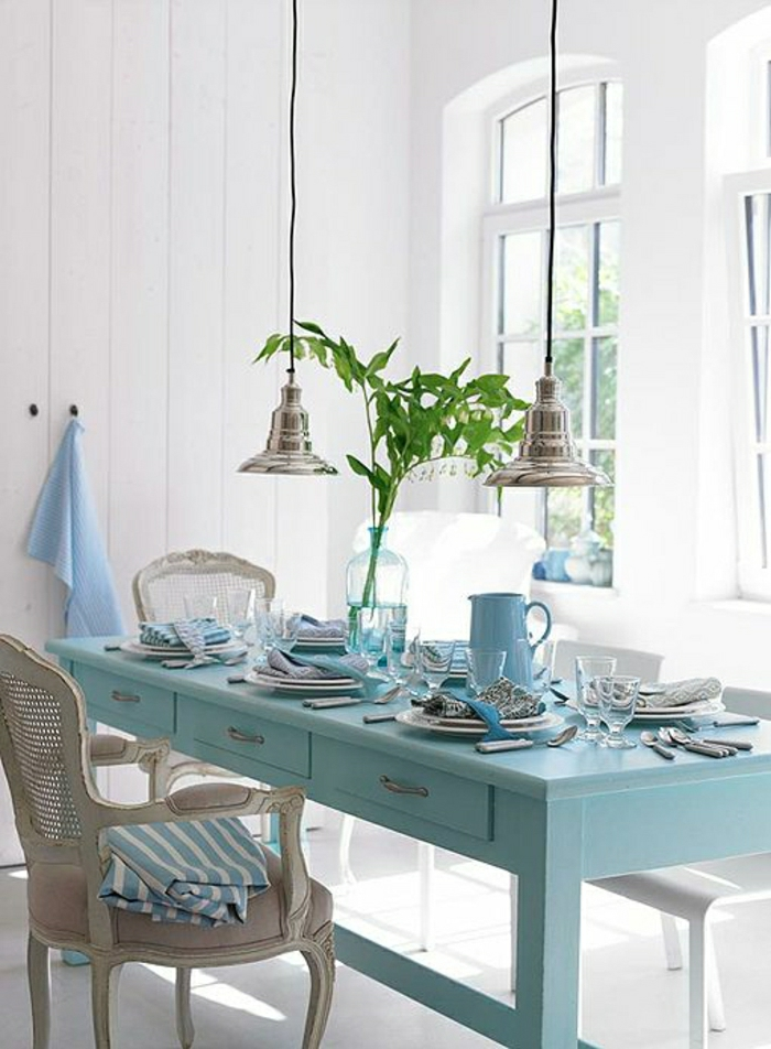 La d coration marine en 50 photos inspirantes - Deco table bord de mer ...