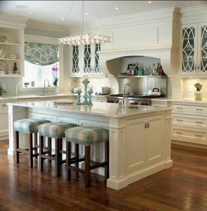 cuisine-de-luxe-meube-bar-tabouret-haut-tabouret-de-cuisine-design-lustre-suspendu