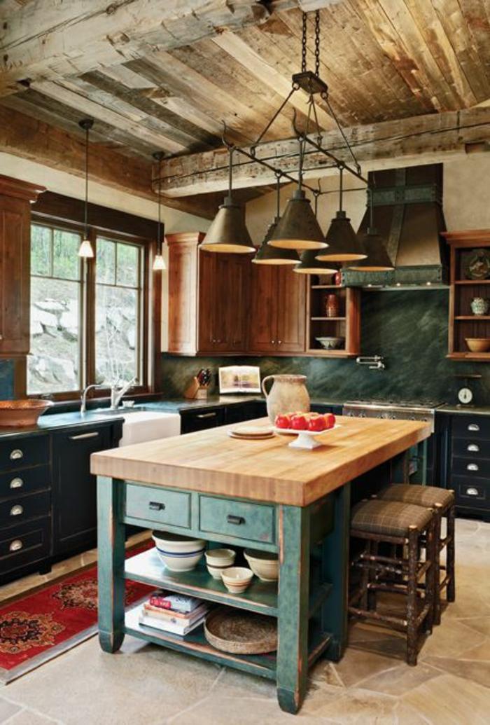 Le meuble massif est il convenable pour l 39 int rieur - Cuisine en chene massif moderne ...