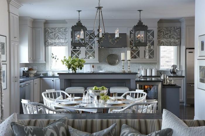 cuisine grise fonce et bois pr l vement d 39 chantillons et une bonne id e de. Black Bedroom Furniture Sets. Home Design Ideas