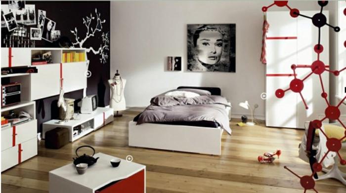 La chambre ado fille 75 id es de d coration - Comment decorer sa chambre d ado ...
