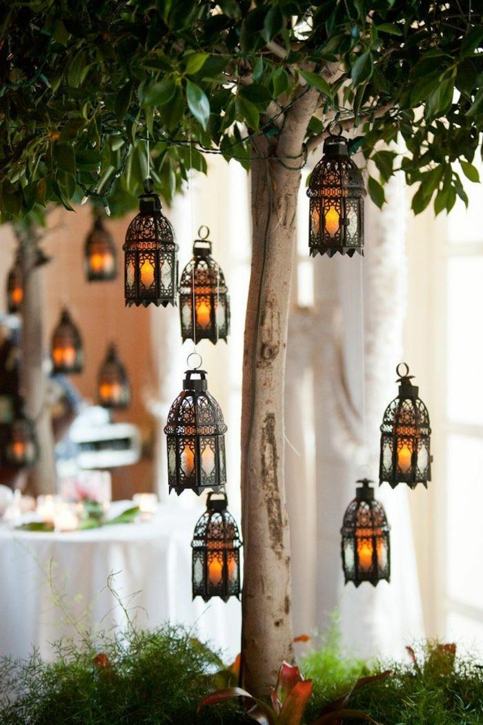 décoration-de-jardin-avec-lumiere-luminaires-exterieur-eclairage