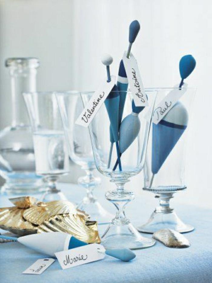 La d coration marine en 50 photos inspirantes for Deco bleu marine et blanc