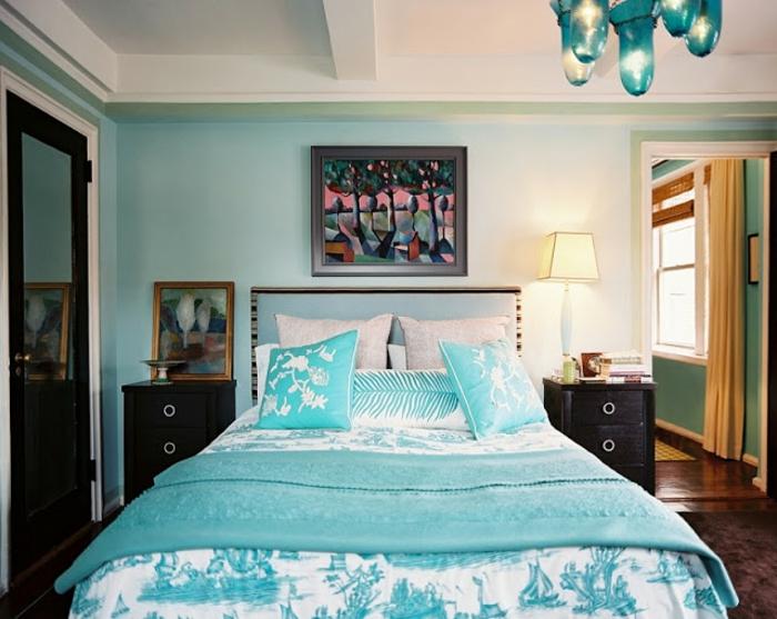 deco-interieur-chambre-a-coucher-bleu-claire