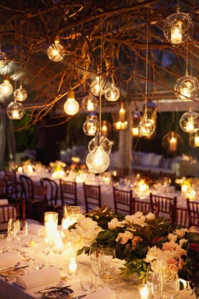 eclairage-de-jardin-avec-luminaires-exterieurs-jardin-décoration-set-de-table-mariage
