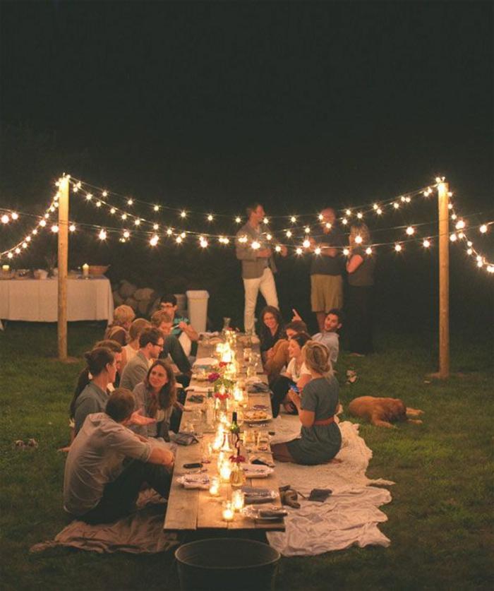 eclairage-exterieur-lampe-d-exterieur-luminaires-extérieurs-idée-comment-eclairer-le-cour
