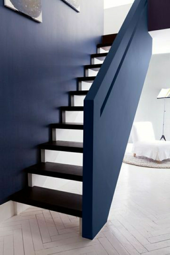 La d coration marine en 50 photos inspirantes for Amenager un escalier interieur