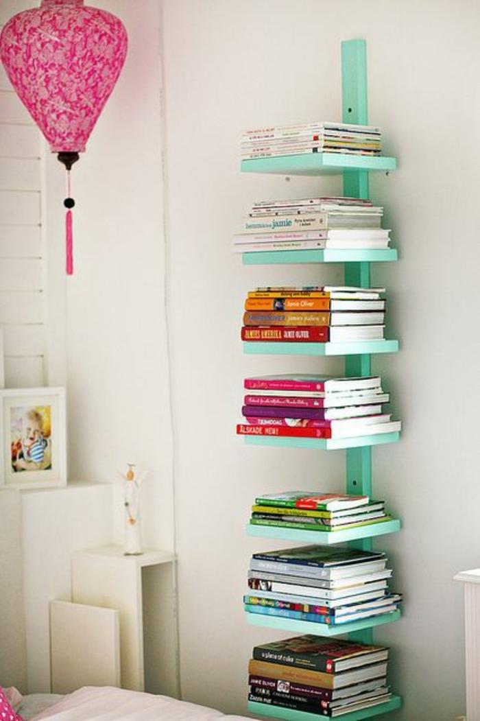 etageres-murales-design-en-bois-bibliothèque-en-bois-livres-décoration-murale-coloré