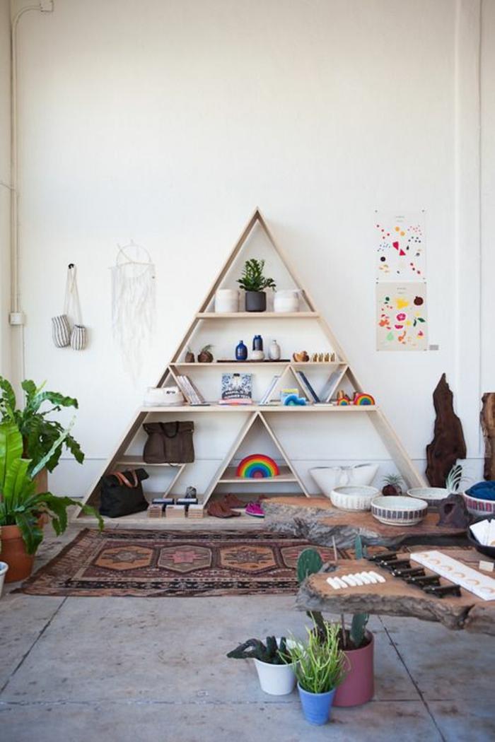 etageres-murales-design-en-bois-bibliothèque-en-bois-livres-décoration-murale