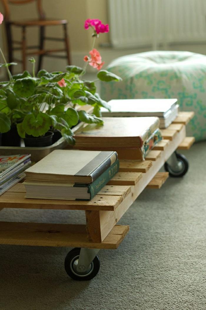 faire-une-table-basse-en-palette-fleurs