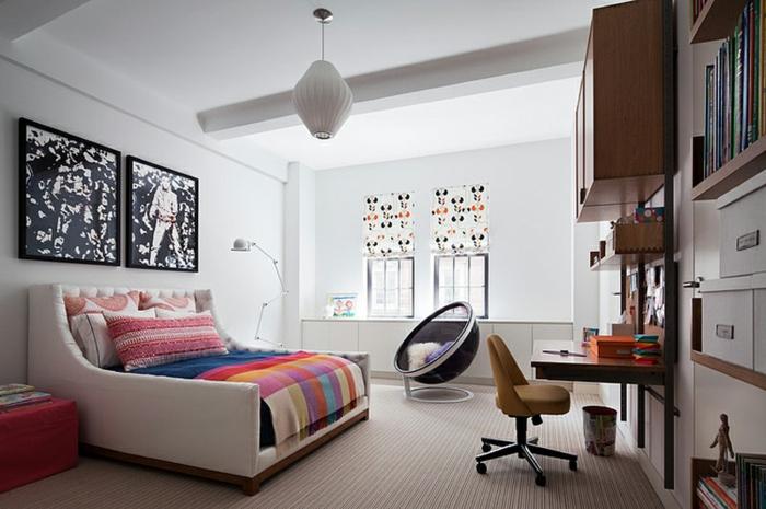 fauteuil-boule-et-salle-spectaculaire-idées-déco-pour-l'intérieur