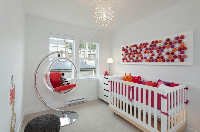 fauteuil-boule-idées-déco-pendantes-pour-les-chambres-d'enfant